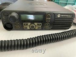 Motorola XPR4580 AAM27UMH9LB1AN 800/900 mhz Mobile Two Way Radio Mototola PP