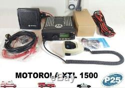 Motorola XTL1500 700 800 MHz SmartZone P25 Digital Mobile Radio M28URS9PW1AN XTL