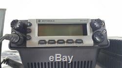 Motorola XTL5000 UHF 380-470 MHz Base Station P25 Digital Radio M20QSS9PW1AN XTL