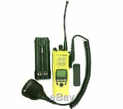 Motorola XTS 5000R H18UCF9PW6AN Rugged SmartZone Radio with Battery, Clip & Mic