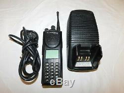 Motorola XTS3000 800mhz P25 Digital Trunking Portable Radio 9600 Baud