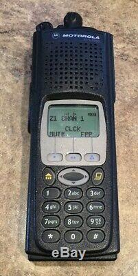 Motorola XTS5000 800mhz M3 WithFPP, Impres Battery And Charger Upgraded Flash