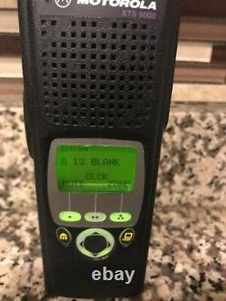 Motorola XTS5000 Model II 700/800Mhz P25 Two WayRadio H18UCF9PW6AN