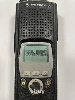 Motorola XTS5000 Model II M2 UHF R1 380-470 MHz H18QDF9PW6AN P25 4x Encryption