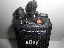 Motorola XTS5000 Model III 7/800 MHz P25 Smartzone Radio Fire Police withFPP