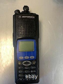 Motorola XTS5000 Model III 700 800 Mhz P25 Police Fire EMS Radio H18UCH9PW7AN