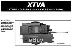 Motorola XTS5000 XTS3000 XTVA Convertacom Charger with Speaker, Mic & Cords