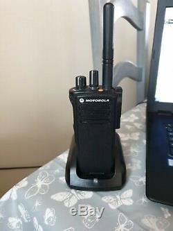 Motorola dp4400 UHF Two Way digital Radio Plus Charger