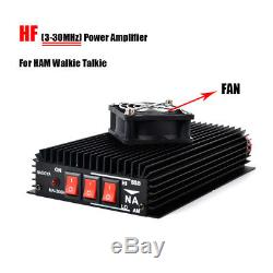 NAGOYA Ham HF Power Amplifier 3-30MHz with Fan For Handheld Two Way Radio CB
