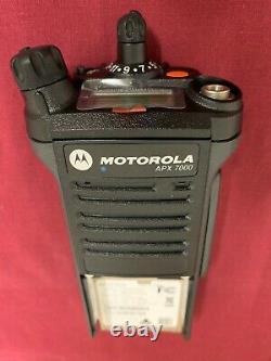 NEW MOTOROLA APX7000 VHF 7/800Mhz P25 DIGITAL HANDHELD RADIO TDMA GPS BLUETOTH