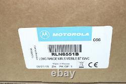 NEW Motorola RLN6551B Long Range Wireless/Bluetooth Speaker Mic Kit-APX XPR XTL