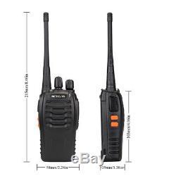 New! 15pc Retevis H777 Walkie Talkie UHF 400-470MHz 5W 16CH Two-Way Radio US Ship