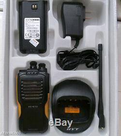 New HYT TC-610 TC610 UHF Radio 5 Watt 16 Channel Two Way 2-way Radio