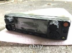 New Motorola APX 8500, 6500 E5 Control Head with PWR Cable, Ignition Cbl, Speaker