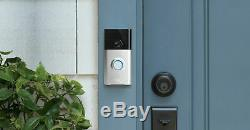 New! Ring Doorbell Security Works With Alexa Audio Video Two Way Communication