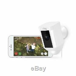 New Ring Spotlight cam Wired Motion Detection Camera, two-way talk, siren alarm