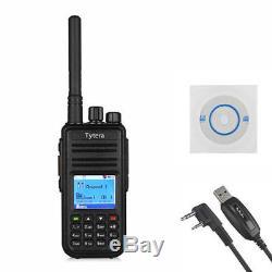 New TYT MD-380G GPS Version DMR WalkieTalkie UHF (Digital Analog) Two Way Radio