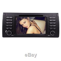 Plug&Play BMW X5 E53 7 Car DVD Player GPS Radio Stereo l Touch Screen Audio Map