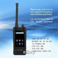 Portable Micro SIM UHF Smart Walkie Talkie Handheld Wifi Two Way Radio Intercom