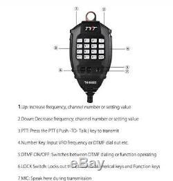 Portable TYT TH-9000D 60W VHF 136-174Mhz Ham Two Way Radio Transceiver LCD Black