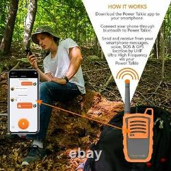 Power Talkie Off Grid Communication Device with Talk and Messenger Communicator