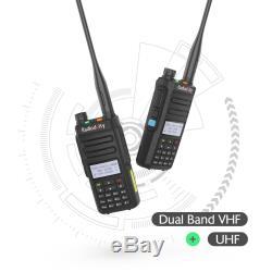 Radioddity GD-77 DMR Dual Band Transceiver 2200mAh V/UHF 1024CH Two way Radio