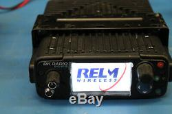Relm Bendix King KNG-M150 VHF Mobile Radio 136-174 Mhz 100 Watts P25 Operation