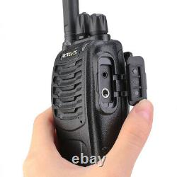 Retevis H777 FRS Two Way Radio TOT 2W 1000mAh Walkie Talkies (6X)+Six-Way Radio