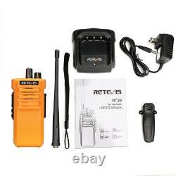 Retevis RT29 two way radios long range UHF 10W 3200mAh VOX Walkie Talkies (2P)