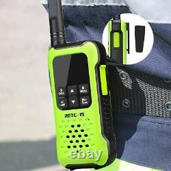 Retevis RT49P Waterproof Walkie Talkie FRS Two Way Radio IP67 Floating 1200mAh