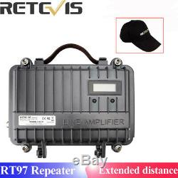 Retevis RT97 Repeater Portable Power Amplifier Divider Two Way Radio UHF/VHF