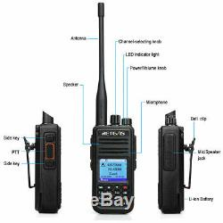 RetevisRT3S UHF/VHFWalkie Talkie DMR Digital/Analog Two Way Radio 3000CH 2000mAh