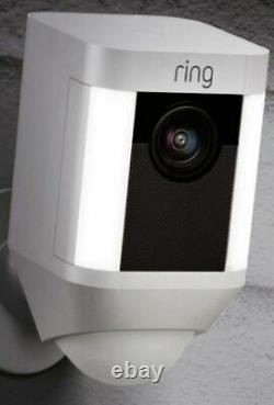 Ring Spotlight Cam Battery Powered HD Security Camera Two-Way Talk NO BATTERY