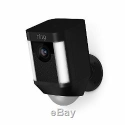 Ring Spotlight Cam Battery Wire-Free HD Security Camera Two-Way Talk 8SB1S7-BEN0