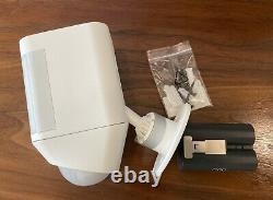 Ring Spotlight Cam Battery Wireless HD Security Camera with Two Way Talk White