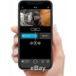 Ring Video Doorbell 2nd Gen V2 Motion Activated Two Way Talk Camera NIckel