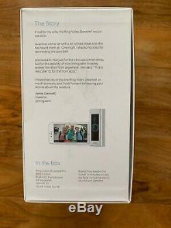 Ring Video Doorbell Pro Kit with Chime and Transformer, UK Model Two-Way Talk HD