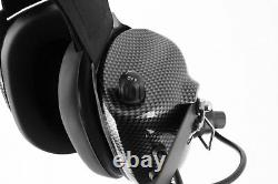 Rugged H41 BTH Behind the Head Two Way Radio Racing Headset Icom Coil Cord Cable