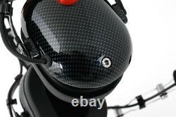 Rugged Radios OTH Over The Head Two Way Radio Headset Carbon Fiber NASCAR Racing