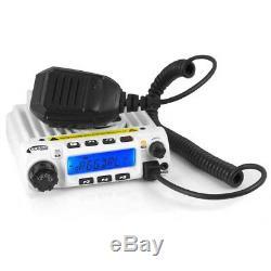 Rugged Radios RM60-V 60 Watt VHF Mobile Two Way Auto Off Road Radio with Hand Mic