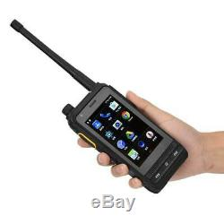 S700A Smart Walkie Talkie Two Way Radio Mobile Phone Android 6.0 UHF VHF BT LCD