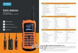 SENHAIX GP8800 Two Way Radio Bluetooth Program Waterproof TPU LED Transeiver
