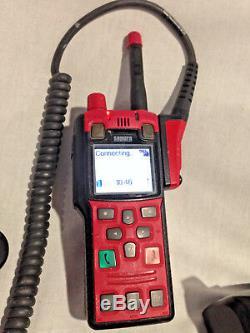 SEPURA STP8X140 TETRA Portable 2-Way Handheld Radio Kit 407-473Mhz. No Battery
