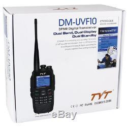 TYT DM-UVF10 DigItal Ham Transceiver Dual Band DPMR signal ham Two Way Radio