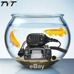 TYT TH-8600 IP67 Waterproof Dual Band 2M/70CM 25W Car Radio HAM Mobile Radio Set