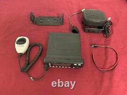 UPGRADED MOTOROLA MCS2000 VHF 25 Watt 250Ch SMARTZONE 136-178Mhz RADIO -COMPLETE