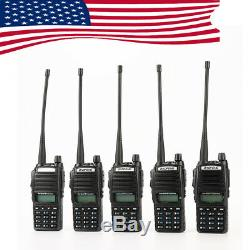 UV-82 Baofeng 136-174/400-520MHz Ham Radio Walkie Talkie DTMF FM Two way US Ship