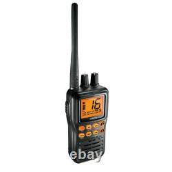 Uniden MHS75 Submersible Waterproof Handheld Two-Way VHF NOAA Radio with Charger
