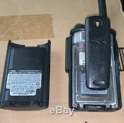 Vertex Vx-p824 Uhf Radio & Battery Vx-p824-g6-5 Fcc # K6610584821