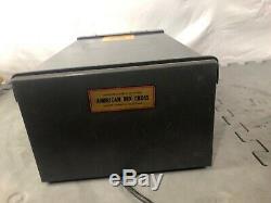 Vintage MOTOROLA L43GGB-2ph50 Base Station Police Radio Type Cc3006